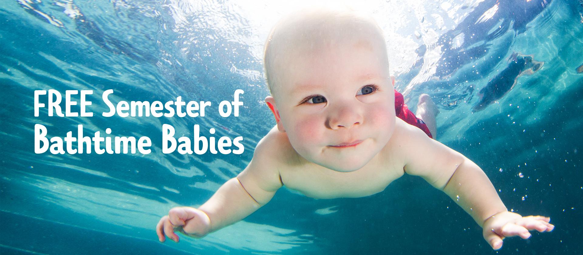 Free Semester of Bathtime Babies